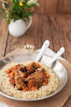 Comida Armenia, Quinoa, Grains, Rice, Chicken, Recipes, Food, Cooking, Gastronomia