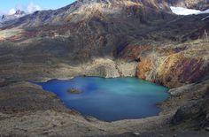 Beautiful lake in the Sierra Nevada del Cocuy range