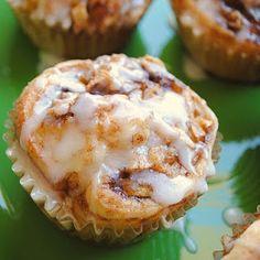 yummy cinnamon roll muffins
