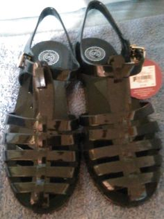 Check out New without box So Popsicle Black sandals size 8 #So #Strappy http://www.ebay.com/itm/-/262365981472?roken=cUgayN&soutkn=f1RaNJ via @eBay