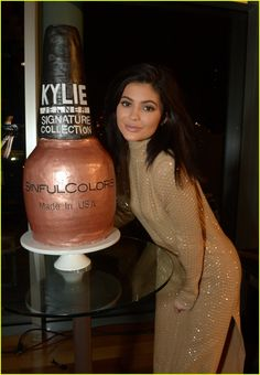 Kylie Jenner Celebrates New Line of Sinful Colors Nail Polishes: Photo #3591732. Kylie Jenner arrives at the Signature Sinful Color Official Launch Party on Saturday (February 27) in Los Angeles.    The 18-year-old reality star released the collection…