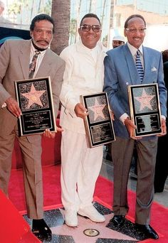 The Four Tops on Hollywood Walk of Fame! Music Mix, Music Icon, Soul Music, Music Is Life, Music Songs, R&b Artists, Music Artists, Black Celebrities, Celebs