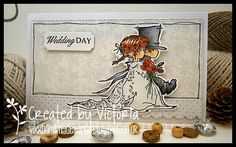 LOTV - Wedding Couple with sentiment from Simply Sophisticated Set 26 by Vicky Bailey
