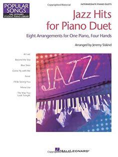 Jazz Hits for Piano Duet: Hal Leonard Student Piano Libra...