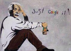 Albert Einstein et Google