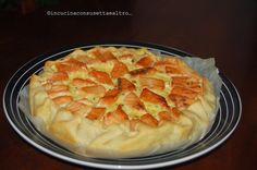 In Cucina con Susetta e altro...: TORTA SALATA AL SALMONE CON PATATE E RADICCHIO   E...