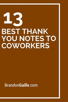 Thank You Messages For Coworkers  Messages Th And Employee