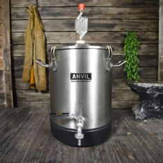 Thanks to HBF Reader Adam for this tip! Ways to Connect with HBF] Anvil 4 Gallon Stainless Bucket Fermentor via Label Peelers From the product description, check product page for current descri… Steel Bucket, Brewing Equipment, Home Brewing Beer, Homebrewing, Tips, Stainless Steel, Game, Crafts, Manualidades