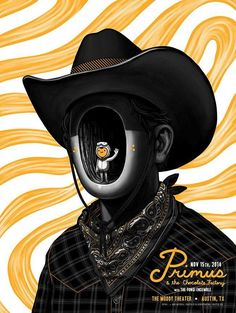Primus Poster Series - Austin, TX by Mike Mitchell