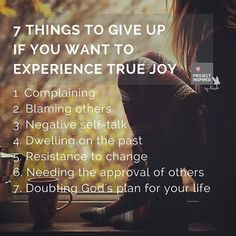 Ditch that stinkin-thinkin! Allow God to renew your mind and your heart so you can experience the fullness of Christ and the joy he offers. Look to him to help you change your negative thinking.