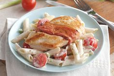 Creamy Chicken with Bacon & Penne recipe