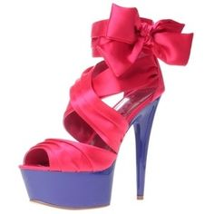 fee573f51035 Lipsy Toxic Bow Platform Cute Heels