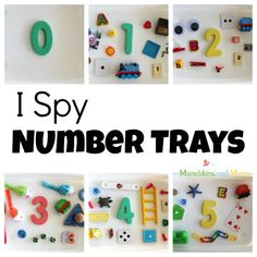 A simple activity to help preschoolers understand and recognize numbers!