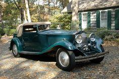 Gurney Nutting Rolls-Royce PII Continental 3-Position DHC 169RY 1934
