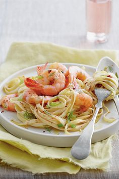 14 Romantic Dinners: Shrimp Destin Linguine