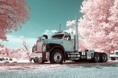 Beautiful old Mack truck.