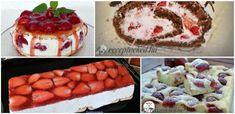 Az eper szezon legjobb sütijei: 10 kiváló epres recepttel - Receptneked.hu - Kipróbált receptek képekkel Waffles, Deserts, Muffin, Goodies, Pudding, Breakfast, Food, Drink, Sweet Like Candy