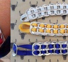 Découvrez comment recycler des capsules de canettes en fer...de jolies créations..