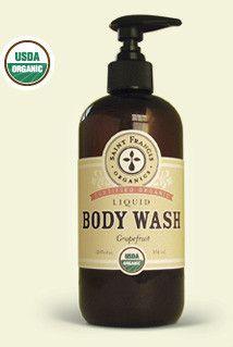 USDA Organic Body Wash