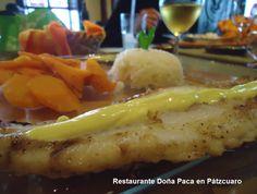 Filete de Pescado en Restaurante Doña Paca en Pátzcuaro
