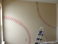 Play ball cute for a boys room or playroom