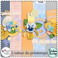kit L'Odeur du Printemps by Didou Scrap http://scrapfromfrance.fr/shop/index.php?main_page=product_info&cPath=88_249&products_id=9587