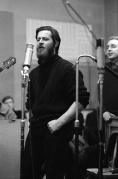 Photo of DUBLINERS and Ciaran BOURKE; Ciaran Bourke performing during the recording of the Dubliners very first LP Get premium, high resolution news photos at Getty Images Great Pictures, Dublin, Musicians, Ireland, Irish, Folk, Image, Irish Language, Popular