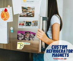 Edge it off with Fridge magnets! #customrefrigeratormagnets #fridgemagnets #advertisement Refrigerator Magnets, Messages, Text Posts, Text Conversations