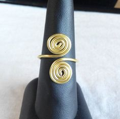 Items similar to wire gold ring adjustable. made in Ireland. on Etsy Wire Rings, Gold Rings, Ireland, Trending Outfits, Unique Jewelry, Handmade Gifts, How To Make, Etsy, Vintage
