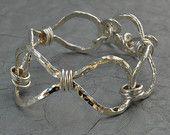 Cuff Bracelet - Silver Infinity Cuff Bracelet