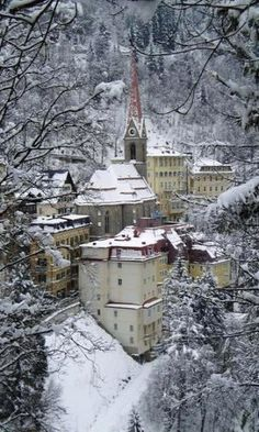 "Bad Gastein, Austria! My Father spent the night in this lovely place during WWII, ""Guarding the Castle!"""