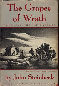 The Grapes of Wrath opened my eyes to the hardships faced by the people of the Great Depression. I remember we had to read this in school when I was a kid.