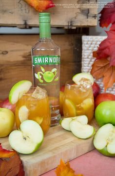 Autumn is upon us, and nothing says it more than apple everything. This cider-inspired cocktail is the perfect way to show your friends the happy hour love they deserve.