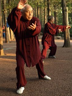 T'ai Chi - A low impact form of exercise, T'ai Chi is great for all age groups, especially older adult with joint and muscle problems. It is a very inexpensive exercise method that requires no special equipment and can be done alone, in a group, indoors or outdoors.