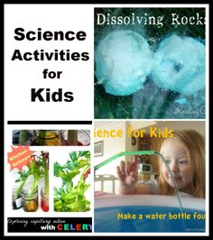 Fun Science Activities for kids featured on Tuesday tots this week!