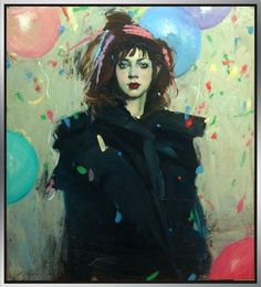 Malcolm Liepke oil painting