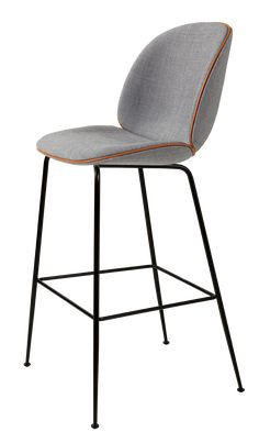 Beetle Stool fully upholstered with Remi, perfekter barhocker mit lehne