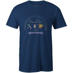 Grand Tour Royal Blue T-Shirt 88afa0bd8