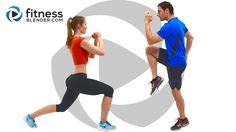 """Brand new 1000 Calorie Workout just went live! It includes your warm up, a fat burning HIIT cardio workout, dynamic abs workout, metabolism boosting total body strength, and your cool down & stretch. We provide both advanced and low impact modifications throughout. Come celebrate 2 million subscribers with us with a well earned """"Workout Complete""""!"""