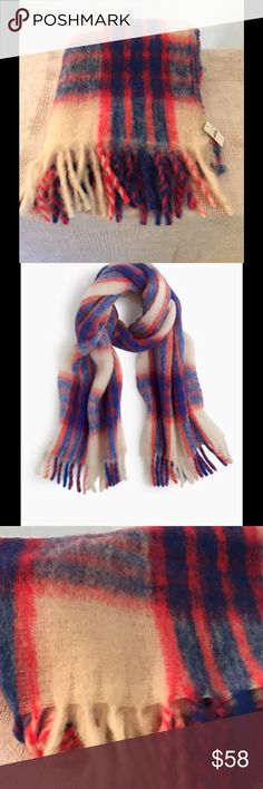J.CREW WINTER SCARF, NWT Brand new scarf, sold out online. J. Crew Accessories Scarves & Wraps