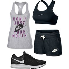 Soccer Practice by mrsfinnigan on Polyvore featuring polyvore, fashion, style and NIKE