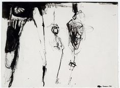 Drawing by Eva Hesse, 1960
