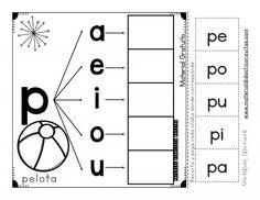 Imagenes Educativas is part of Learning spanish - Descargar Archivo Preschool Letters, Learning Letters, Preschool Classroom, Sight Word Activities, Alphabet Activities, Preschool Activities, Spanish Teaching Resources, Pre Kindergarten, Word Study