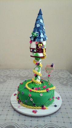 Bolo-Decorado-Enrolados/Tangled Cake