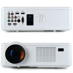 Main Features:With analog TV interface lumen with contrast ratio for clear ,sharp x HDMI input ports and 2 x USB ports: Presentatio Cinema Projector, Home Entertainment, Entertaining, Led, The Originals, Shopping, Funny