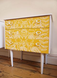 Mid Century Upcycled Chest of Drawers for by HandsomeVintage, £185.00