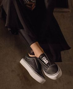 Cinderella Would Like To Slip Into These Karl Lagerfeld-Vans Sneakers Instead Of Glass Heels