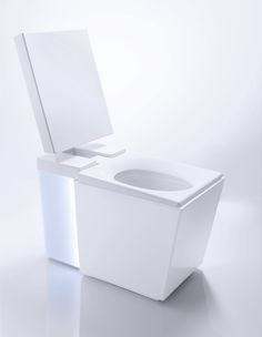 KOHLER's most advanced toilet yet - Numi. Features motion activated seat, adjustable bidet function with air dryer, charcoal filter deodorizer, heated seat, heated feet vents, ambient lighting and FM radio/MP3 music capabilities.