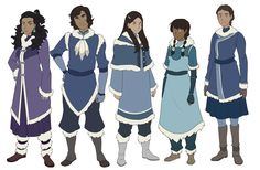 Side characters we'll see soon + Nami's water tribe clothing! Avatar Airbender, Avatar Aang, Game Character Design, Character Design Inspiration, Character Art, Character Sketches, Character Concept, Avatar Cosplay, Avatar Cartoon