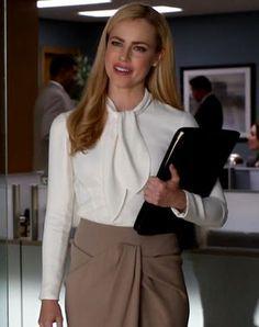 Katrina Bennett (Amanda Schull) | Suits style | Pinterest | I Am